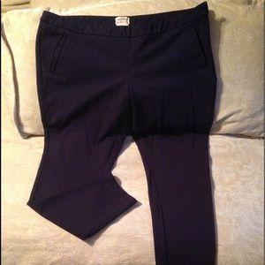Navy ponte pants